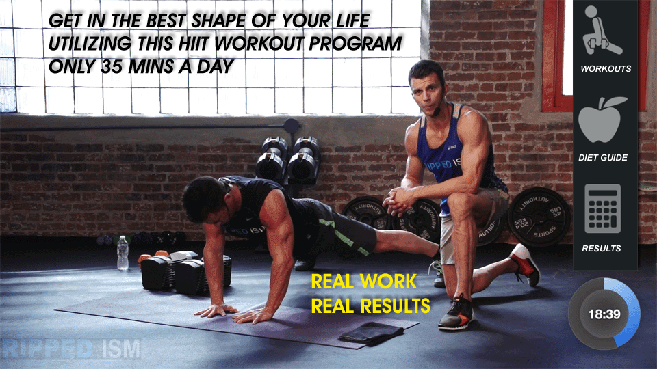 Get Ripped At Home In 60 Days
